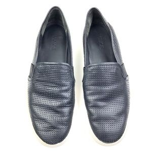 Vince | Blair Genuine Leather Perforated Sneaker